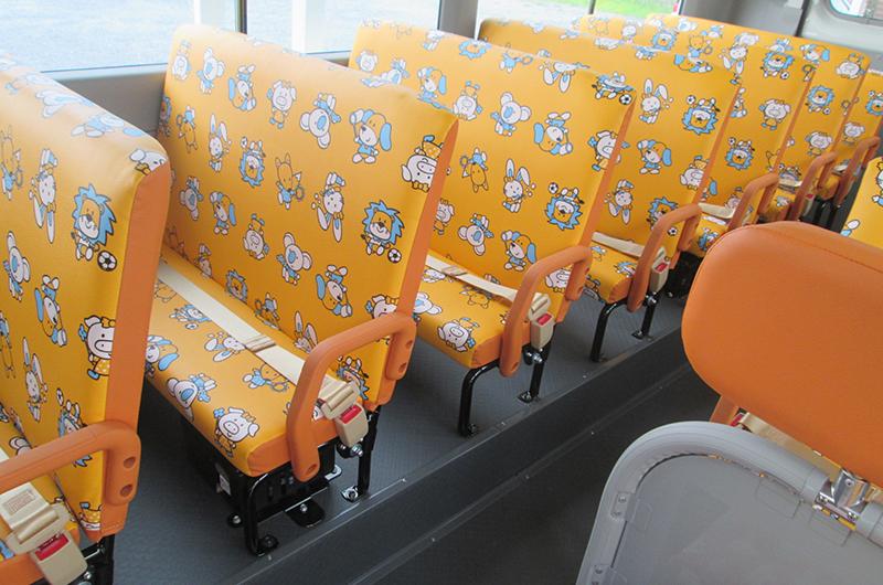 巻き取りリール式簡易シートベルト
