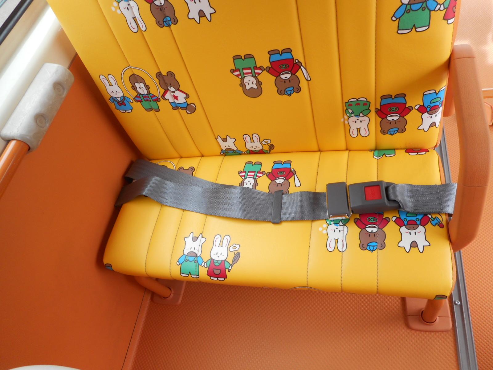 汎用 簡易2点式シートベルト